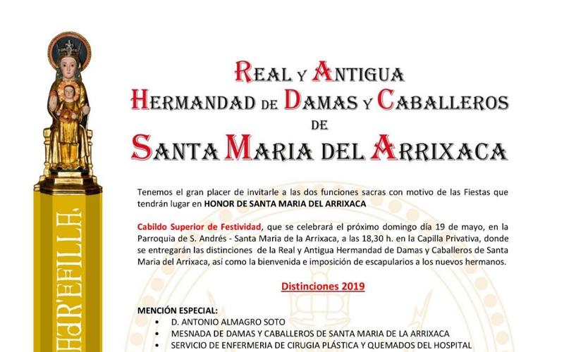 Virgen de la Arrixaca 2019