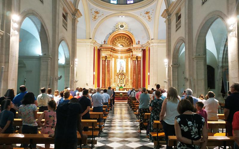 Misa por Don Jesús Abenza