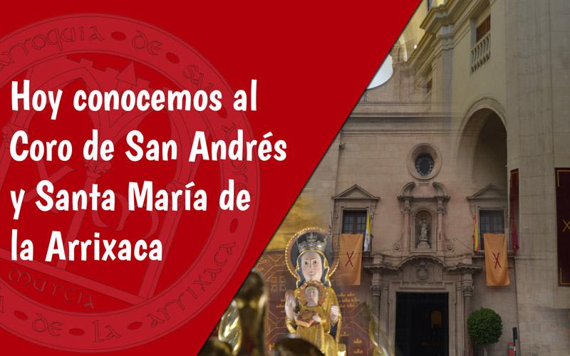 Coro San Andrés Día de la Iglesia Diocesana Murcia 2019