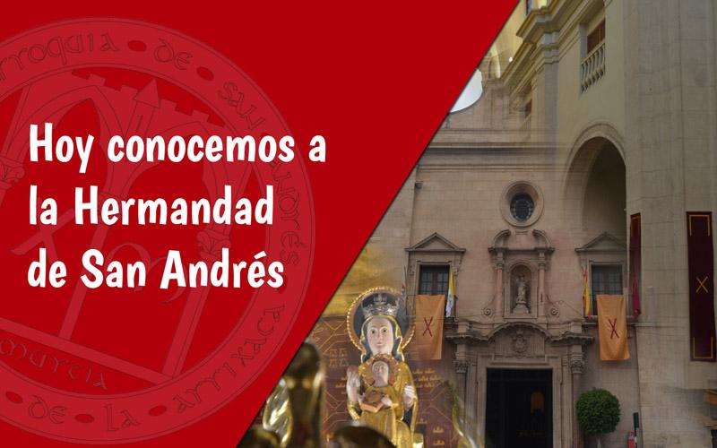 Hermandad de San Andrés Día de la Iglesia Diocesana Murcia