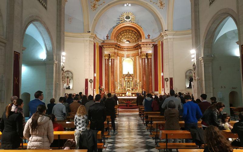 Misa de Gallo 2019 Parroquia de San Andrés Murcia