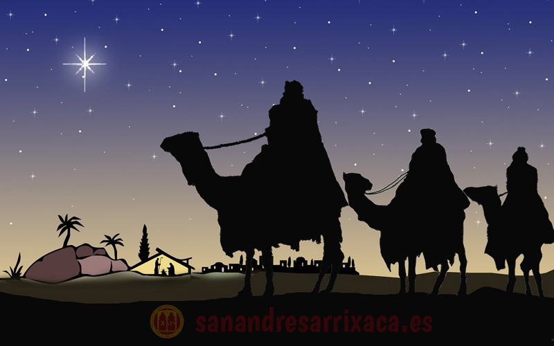 Visita de los Reyes Magos a la Parroquia de San Andrés